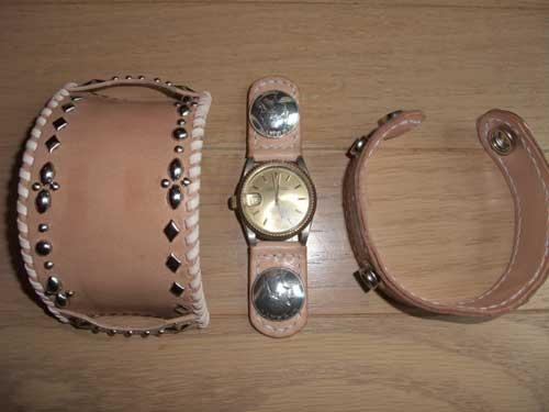 ハンドクラフト 腕時計