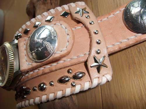 革 手造り時計