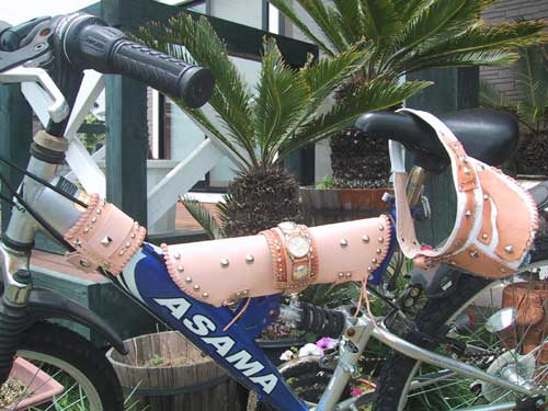 革 自転車