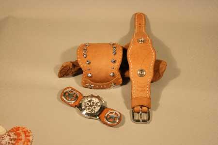 ハンドメイド腕時計 ブレス時計