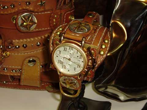 置き時計に使われている時計。