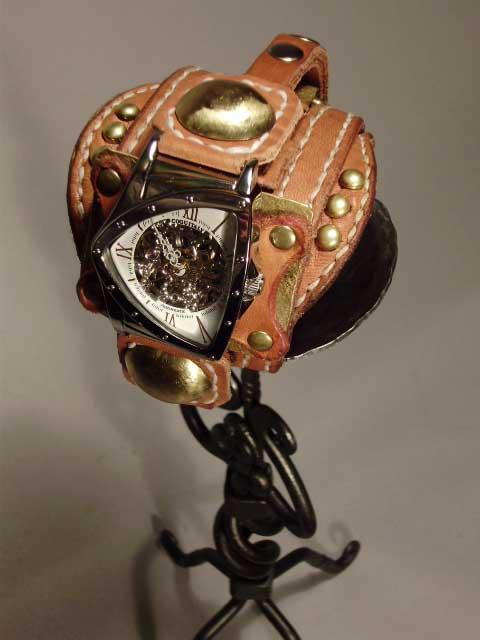 ハンドクラフト置き時計