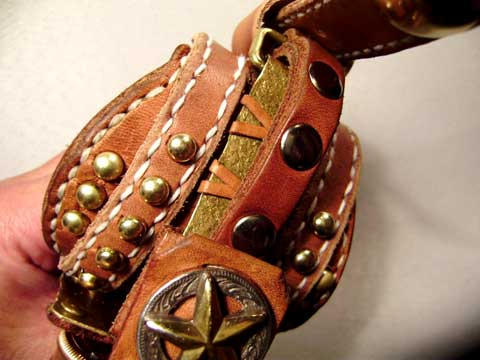 幅広バンド 腕時計