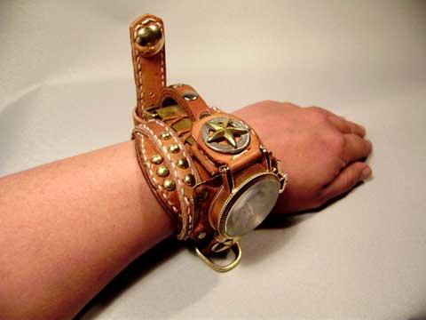 幅広バンド 腕時計用
