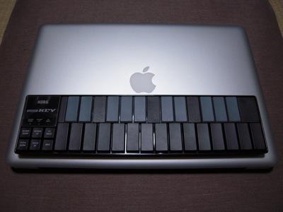 nanoKEYとMacBook Pro