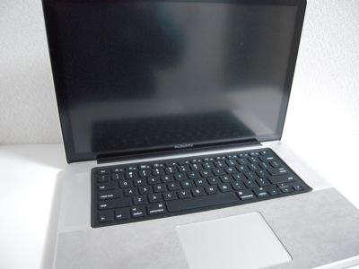 パワーサポート製品まみれのMacBook Pro