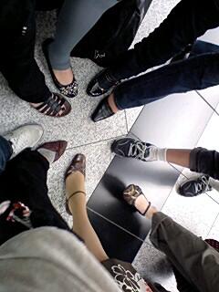 参加者の足
