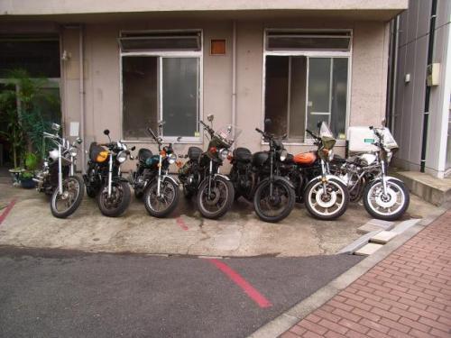 9_バイク整列