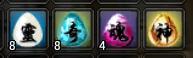 天機の石4種