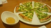 小 23.10秋の魔法の粉会料理たのくらのピザ