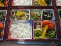 栄養のバランスが考えられたお昼ご飯
