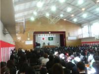 一宮小学校卒業式