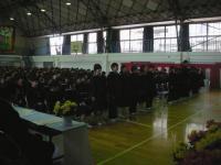 一宮中学校入学式1