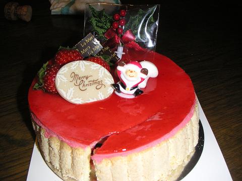 壊れたケーキ