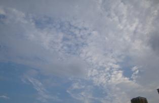 ちょっと曇り空ですが・・・