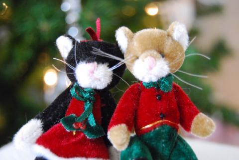 懐かしのクリスマス小物