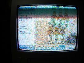 壊れかけのTV