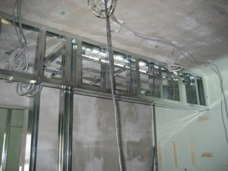 収納の垂れ壁部分