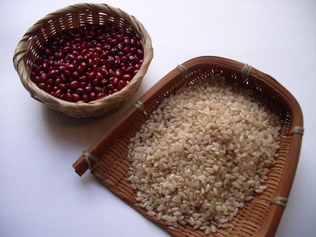 小豆 玄米