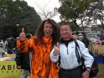 福田六花さんと記念写真