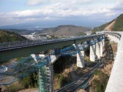 鎧田橋工事区間