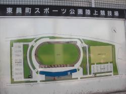 陸上競技場の案内