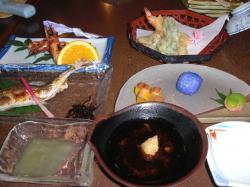 保養所の食事1
