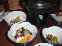 保養所の食事2