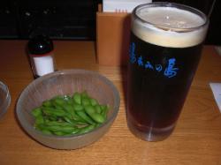 温泉後のビール