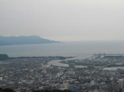 香貫山から駿河湾