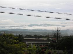 雨上がりの鈴鹿山脈