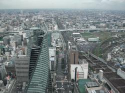 41階から名古屋港方面