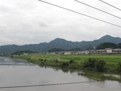 狩野川から鷲頭山と大平山