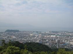 香貫山から駿河湾方面