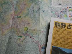 大雲取小雲取の地図