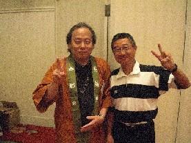 尾瀬あきら先生とツーショット