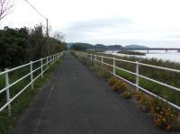 気賀駅から浜名湖へ