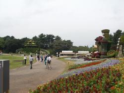 立体花博中央広場