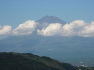 体育の日の富士山