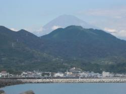 由比PAから富士山
