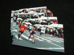 菰野町カモシカレースのゴール写真