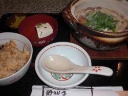 大阪の鍋焼きうどん