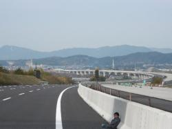 新東名掛川工事区間です