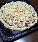 ピザ(焼く前)