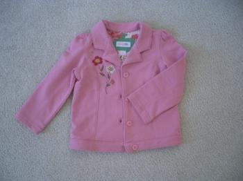 子供服ピンクジャケット