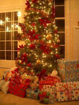 クリスマスツリー(自宅)