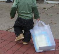 息子とお買い物