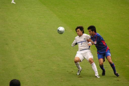 遠藤保仁(G大阪)&今野泰幸(FC東京)
