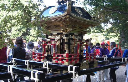 竜田大社・神輿