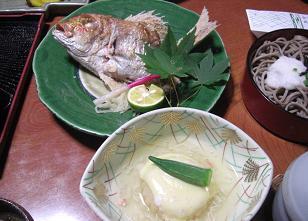 竹野屋・夕食3